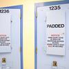 7-9-14 <br /> Padded cells for when a prisoner becomes a danger to himself at the Howard County Criminal Justic Center.<br /> Tim Bath | Kokomo Tribune