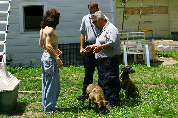 7-2-14   --- Animal Control Officer Billy Bryant working in Kokomo and Howard County.  With numerous complaints Billy tries to work with a man who neighbors say he is not taking proper care of his dogs. --<br />   Tim Bath | Kokomo Tribune