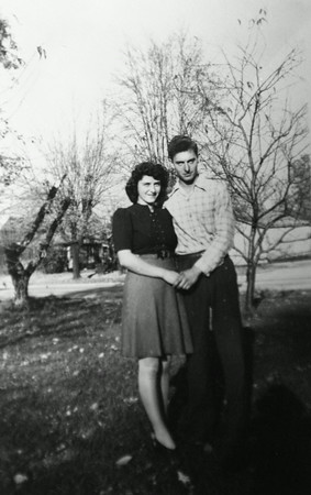 Jean Ronk and Don Hardin were married on June 18, 1944.