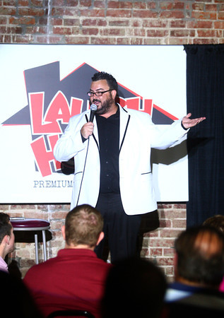 6-12-14<br /> Comedians perform at the soft grand opening of Laugh House Kokomo on Wednesday.<br /> Kelly Lafferty | Kokomo Tribune