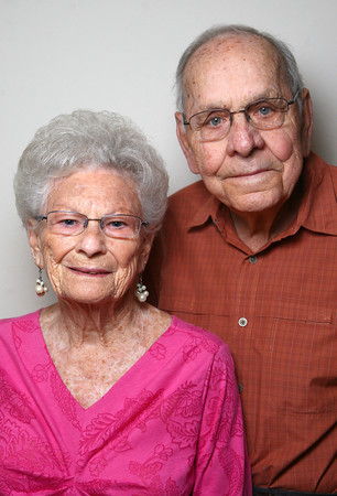 5-22-14<br /> Anna and Phil Hueston have been married for 63 years.<br /> Kelly Lafferty | Kokomo Tribune