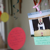6-27-14<br /> 100-year-old nun<br /> Decorations are hung at the entrance of the Poor Clares Monastery, celebrating the life of Sister Bernadette, who is turning 100 years old.<br /> Kelly Lafferty | Kokomo Tribune