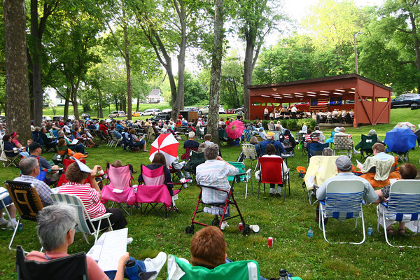 6-12-14<br /> Kokomo Park Band<br /> Highland Park is filled with music listeners who came to enjoy Kokomo Park Band's first concert of the summer season.<br /> Kelly Lafferty | Kokomo Tribune