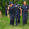 6-16-14   --- Heading north on Bell Street Mr. Fivecoate did not stop at the Vaile Street stop sign. He proceeded through a grassy area between two houses, down a 40 foot embankment and into the Wildcat Creek. Kokomo firefighters and police helped him up the hill. Disoriented, he said that his dad was in the car with him, therefore a search started for a second person. Phone calls confirmed his dad was not with him and the search was called off. --<br />   Tim Bath | Kokomo Tribune