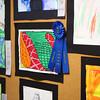 5-29-14<br /> Paul Buesking's art class at Bon Air<br /> Artwork of Paul Buesking's Bon Air Elementary students fill the hallway near the art room.<br /> Kelly Lafferty   Kokomo Tribune