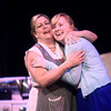 5-29-14<br /> Bye Bye Birdie dress rehearsal<br /> Amanda Paul and Meagan Boruff rehearse a scene from Bye Bye Birdie during dress rehearsal.<br /> Kelly Lafferty | Kokomo Tribune