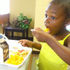 6-17-14   --- Summer free lunch program hosted by Carver Community Center drawing kids like Shy Brown, 4. --<br />   Tim Bath | Kokomo Tribune