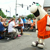6-17-14   --- Little Caesars set up a truck giving pizza away at the Kokomo Rescue Mission on Tuesday. The Little Caesar mascot also made an appearance. --<br />   Tim Bath | Kokomo Tribune