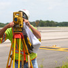 6-20-14<br /> Grissom Runway<br /> Mike Raplee documents existing joints in Grissom's taxiway A, that way they can be remarked once it's paved.<br /> Kelly Lafferty | Kokomo Tribune
