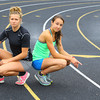 6-4-14   --- Amber Miller and Taryn Thor from Northwestern HS will compete in state track this week. --<br />   Tim Bath | Kokomo Tribune