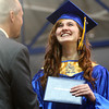5-31-14<br /> Tri Central graduation<br /> Jessica Bales smiles as she receives her diploma at Tri Central on Saturday.<br /> Kelly Lafferty | Kokomo Tribune