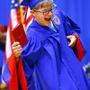 6-6-14   --- Cole Rutherford shows off his diploma after walking across the stage at KHS Graduation. --<br />   Tim Bath | Kokomo Tribune