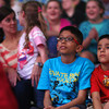 5-9-14<br /> Kelly Miller Circus<br /> Brothers Dhruvin and Krish Patel watch the Kelly Miller Circus performance on Friday afternoon.<br /> Kelly Lafferty | Kokomo Tribune