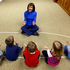 3-4-13<br /> Kaye Jean Swinehart teaches Kindermusik at Highland Park Church. Swinehart will be moving to Michigan. Starting off the 4 year-old's session with a song<br /> KT photo | Tim Bath