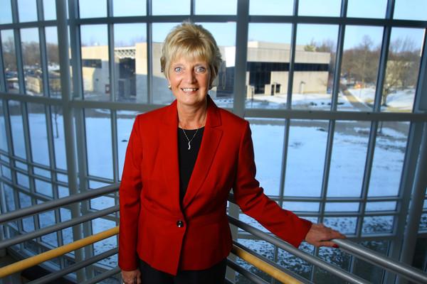 3-14-14   --- Susan Sciame-Gieske names IUK Chancellor.  -- <br />   KT photo | Tim Bath