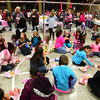 3-28-14<br /> Blush<br /> Women of all ages enjoy snacks during a break at Blush on Friday night at Kokomo's First Church of the Nazarene.<br /> KT photo | Kelly Lafferty