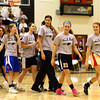 3-6-14<br /> The Lady Panthers walk out onto the gym during the pep rally send off to the state championship game.<br /> KT photo | Kelly Lafferty