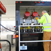 3-17-14   --- Gary Gist checks the pumps for accuracy at a gas station in Howard County. The pump failed due to a faulty check valve.  -- <br />   KT photo | Tim Bath
