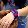 3-13-14   --- Wallace students make bracelets from recycled wool.  -- <br />   KT photo | Tim Bath