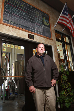 3-12-14<br /> Half Moon Brewery<br /> Owner Chris Roegner in Half Moon Brewery<br /> KT photo | Kelly Lafferty