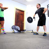 3-4-14   --- Amanda and Keith Flick working out in their CrossFit Studio on South Webster Street.  -- <br />   KT photo | Tim Bath