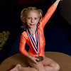 3-14-14<br /> Jillian Creager of Kokomotion won first place in the vault competition at a state meet.<br /> KT photo | Kelly Lafferty