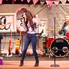 3-28-14<br /> Blush<br /> Brianna Caprice performs on the stage for Blush at the First Church of the Nazarene on Friday evening.<br /> KT photo | Kelly Lafferty