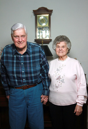 Bob and Carolyn Parr have been married for 64 years.<br /> KT photo | Kelly Lafferty