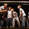 3-27-14<br /> Anti-bullying speaker at Northwestern Elementary<br /> Evan Kearney, Aydan Ridener, Xavour Worthington, and Ethan Dale participate in a skit during Keith Detano's anti-bullying presentation at Northwestern Elementary School.<br /> KT photo | Kelly Lafferty