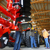 3-18-14   --- Ag Day at the Howard County Fair grounds. Eastern 5th graders listen to the Hartman family talk about the equipment that is used on a farm.  -- <br />   KT photo | Tim Bath