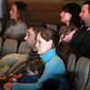 3-11-14<br /> Oakbrook Church Service<br /> Nathan and Ashley Short sit with their daughter Lily during Sunday's service at Oakbrook Church.<br /> KT photo | Kelly Lafferty
