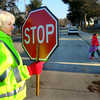 3-26-14   --- Karen Davis works as a crossing guard at Sycamore Elementary School. She is having a difficult time with the Free Marketplace in getting healthcare that suits her needs.  -- <br />   KT photo | Tim Bath