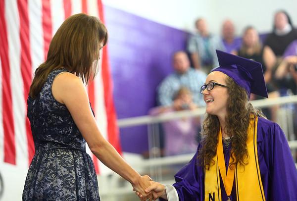 6-7-14<br /> Northwestern Graduation<br /> <br /> Kelly Lafferty | Kokomo Tribune