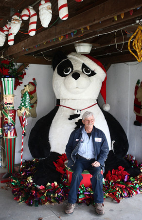 11-14-12<br /> Mike Wyant<br /> Mike Wyant is the creator of the decorations at We Care Park.<br /> KT photo | Kelly Lafferty