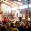 11-17-12<br /> Wedding at Easy Acres Farm between Mya Hainlen and Jim Menefee.<br /> KT photo | Tim Bath