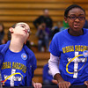 11-9-13<br /> Lego league tournament<br /> Kaiden Rodda and Renee Creppy react after their robot doesn't complete its mission during the Lego League tournament.<br /> KT photo | Kelly Lafferty