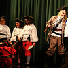 11-12-13<br /> Curtain Call children's theater  dress rehearsals for The Adventures of Fearsome Pirate Frank<br /> The cast of The Adventures of Fearsome Pirate Frank rehearses at Sycamore Elementary.<br /> KT photo | Kelly Lafferty