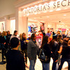 11-28-13  --  Shopping begins on Thanksgiving. Customers line up outside of Victoria Secret for their 8 p.m. opening.<br />   KT photo | Tim Bath