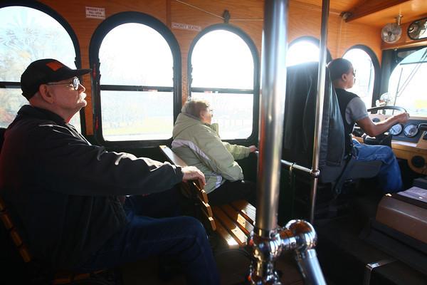 11-7-13<br /> Kokomo bus transit<br /> Passengers await their destination on the bus as it travels through Kokomo.<br /> KT photo | Kelly Lafferty