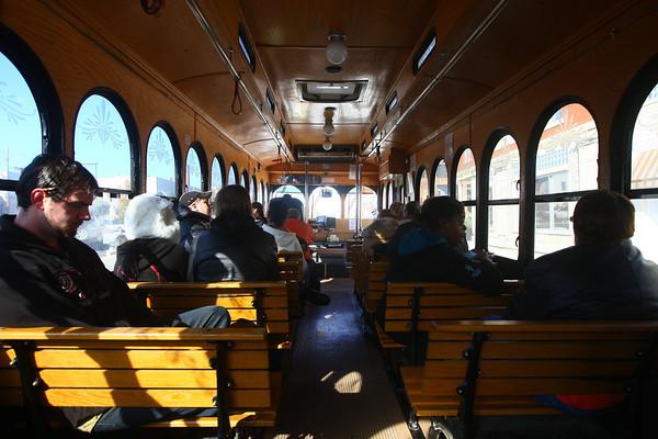 11-7-13<br /> Kokomo bus transit<br /> <br /> KT photo | Kelly Lafferty