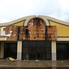 Buffalo Wild Wings sign was torn off due to severe storms on Sunday.<br /> KT photo | Kelly Lafferty