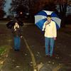 11-6-13<br /> Walkers along the road and walking path in the Tipton City Park.<br /> KT photo | Ken de la Bastide
