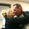 11-18-13<br /> Homecoming of the 434th Air Refueling Wing to Grissom<br /> Anita Hollis kisses her boyfriend Russell Smith after Smith returned to Grissom from a deployment with the 434th Air Refueling Wing in southeast Asia.<br /> KT photo | Kelly Lafferty
