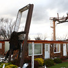 Sunday's tornado caused damage to businesses along Hoffer Street.<br /> KT photo | Kelly Lafferty