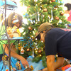 11-3-13  --  We Care Trim-a-Tree in the old Phar Mor store at the Kokomo Town Center(across from the movie theater) decorating on Sunday for the auction that will take place Sunday Nov. 17<br />   KT photo | Tim Bath