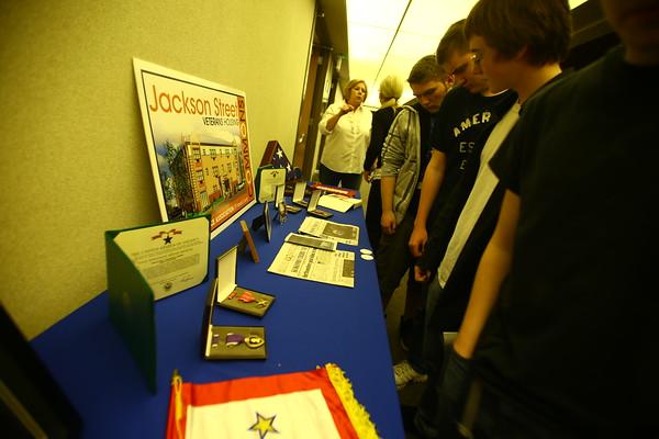 11-11-14<br /> Veterans Day program at Kokomo High School.<br /> Tim Bath | Kokomo Tribune