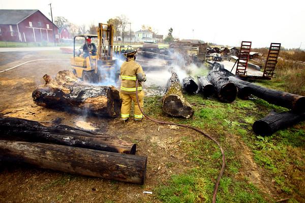 Flodder Saw Mill fire