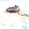 Rollover accident at Touby Pike about 400 North just before noon on Monday, Nov. 17, 2014.<br /> Tim Bath | Kokomo Tribune