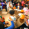 10-20-12 <br /> The Kokomo Parks & Recreation Department hosted at Pumpkin painting event at the Kirkendall Nature Center at Jackson Morrow Park on Saturday.<br /> FRONT-Ashton Castillo, 5, with Carmen Larson and her kids Corrin Larson, 11, and Lindsay Larson, 9 and finally Chloe Ciscell, 8.<br /> KT photo | Tim Bath