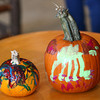 10-20-12 <br /> The Kokomo Parks & Recreation Department hosted at Pumpkin painting event at the Kirkendall Nature Center at Jackson Morrow Park on Saturday.<br /> <br /> KT photo   Tim Bath